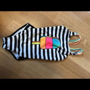Girls bathing suit one piece